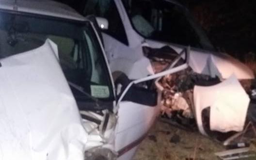Çoğulhan Yolunda Trafik Kazası