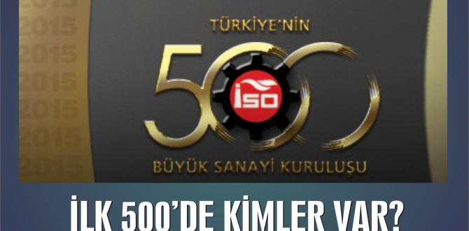 İSO İKİNCİ 500'DE KAHRAMANMARAŞ'TAN 12 FİRMA YER ALDI