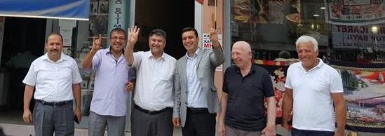 İlçe Başkanı Şeref Kırbıyık Siyasi Partileri Önemli Mitinge Davet Etti