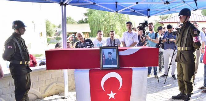 Şehit Jandarma Uzman Uğur Kartal Tekbirlerle Sonsuzluğa Uğurlandı.