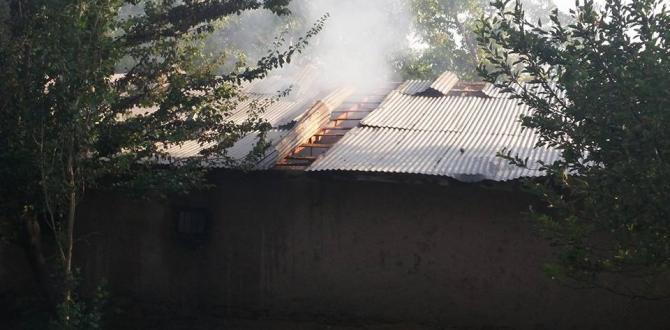 Çoğulhan Mahallesinde Samanlıkta Çıkan Yangın Söndürüldü.