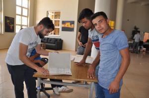 DSC 0032 300x199 Üniversite Öğrencilerine Sıcak Karşılama