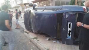 IMG 20160831 WA0011 300x169 Trafik Kazası 1 Kişi Yaralı