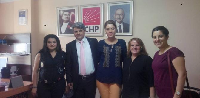 CHP'de Bayramlaşma Yapıldı
