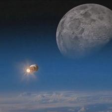 Ay'a yolculuk 'uzay treni' ile 2 dakika!