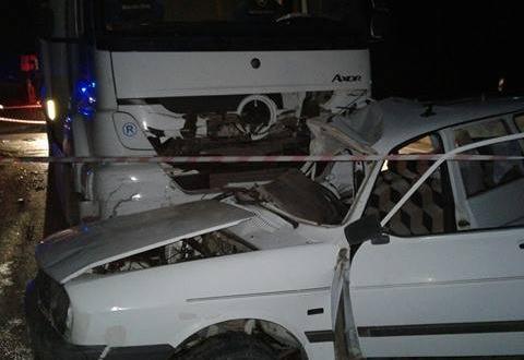 Elbistan'da Trafik Kazası 1 Ölü 2 Yaralı