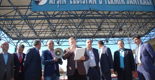 """Enerji-İş Başkanı Altunsoy: """" Enerji-İş Sendikası Üyesi Kardeşlerimiz Yalnız Değil"""