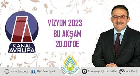 Afşin Belediye Başkanı M.Fatih GÜVEN Kanal Avrupa Ekranlarında!