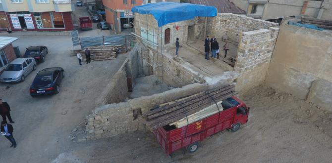 250 Yıllık Tarihi Konak Restore Ediliyor.