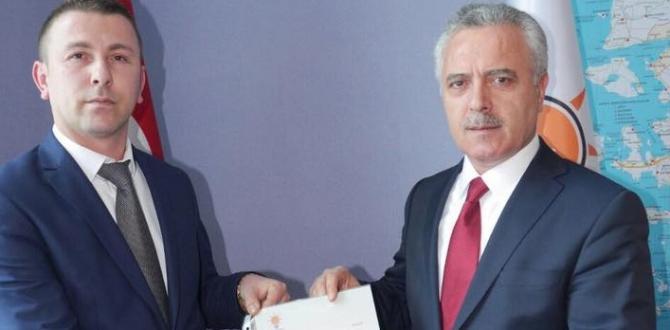 Ak Parti Andırın'da Görev Değişikliği Yaptı.