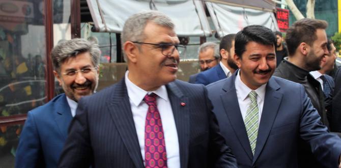 AFŞİNDER, BAŞBAKAN YARDIMCISI VEYSİ KAYNAK'I MİSAFİR ETTİ