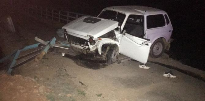 Afsin'de Trafik Kazası 1 Ölü 3 Yaralı