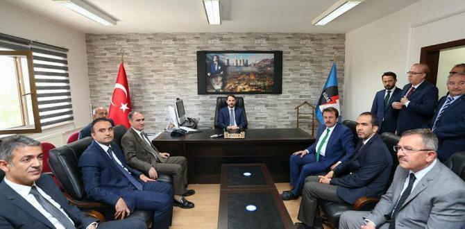 BAKAN ALBAYRAK AFŞİN'E GELDİ.