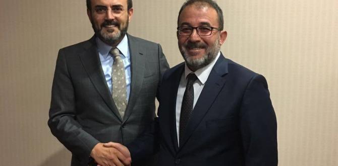 BAŞKAN GÜVEN, ÜNAL'I MAKAMINDA ZİYARET ETTİ.