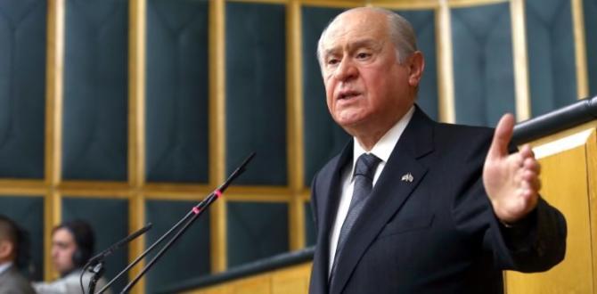 Devlet Bahçeli'den 'Rıza Sarraf' açıklaması