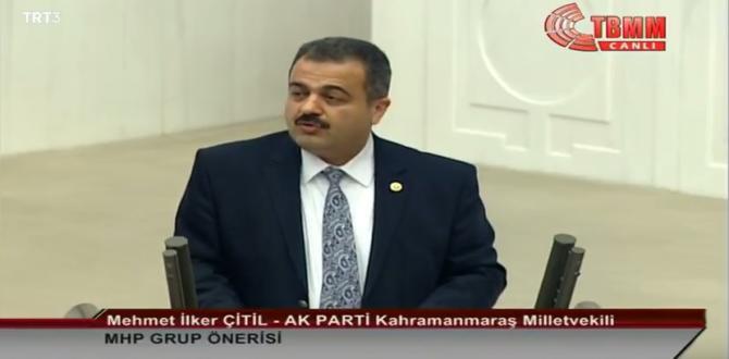 Milletvekili Çitil MHP Grup Önerisi Hakkında Konuştu.