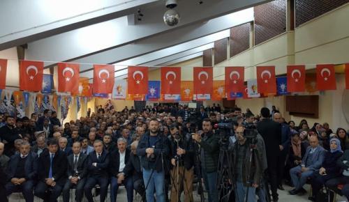 Ak Parti Afşin 6.Olağan Kongresi Yapıldı.
