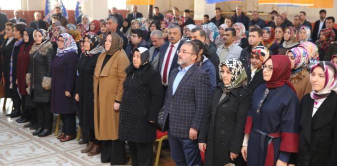 Ak Parti Afşin Kadın Kolları Kongresi Yapıldı.
