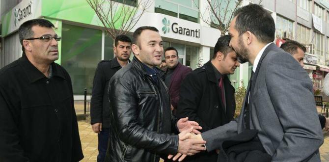 Özdemir, Afşin'de Partililerle Biraraya Geldi.