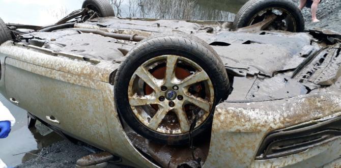 Baraja Düşen Otomobil Aylar Sonra Çıkarıldı.