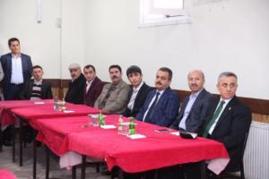 tatlıder başkanı İsrafil bahçe -milletvekilleri ve sultangazi belediye başkanı