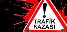 Afşin'de Trafik Kazası 1 Ölü 4 Yaralı.
