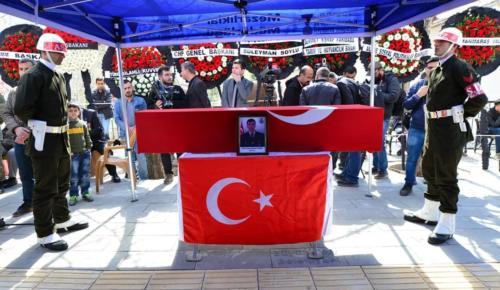 Şehit Uzman Çavuş Orhan Sürmen Son Yolculuğuna Uğurlandı.