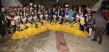 KAZAK MÜZİĞİ VE FOLKLOR TOPLULUĞU'NDAN AFŞİN'DE SAHNE…