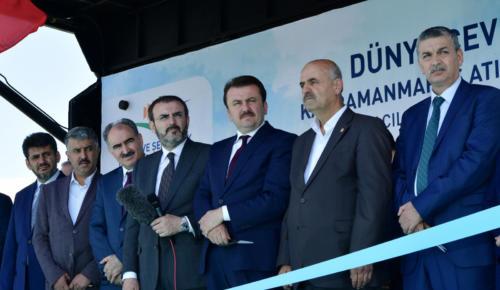 KAHRAMANMARAŞ ATIKSU ARITMA TESİSİ AÇILDI.