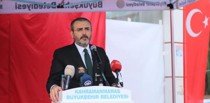 Afşin-Elbistan Doğalgaz'a Kavuştu.
