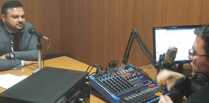 İYİ Parti İl Başkanı Ahmet Çabukel Radyo Programına Konuk Oldu.