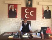 Afşin MHP'de Aday Adaylık Süreci Başladı.