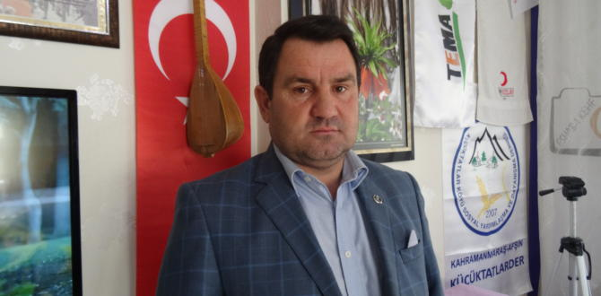 BBP Afşin Belediye Başkan Adayını Açıklandı.