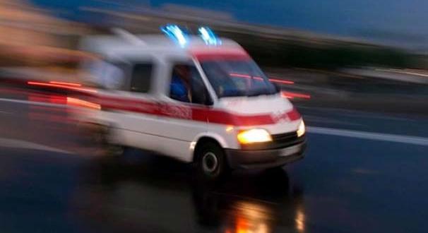 Yüksekten Düşen 2 İşçi Ağır Yaralandı.