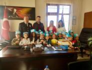 Anaokulu Öğrencileri Polis Amcalarını Ziyaret Etti.