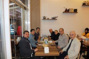 Mekan sahibi Hacı Kral_Gazeteci Eyüp Kadir Kılcı