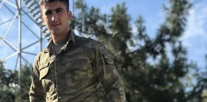 Elbistanlı Uzman Çavuş, Tedavi Gördüğü Hastanede Hayatını Kaybetti.