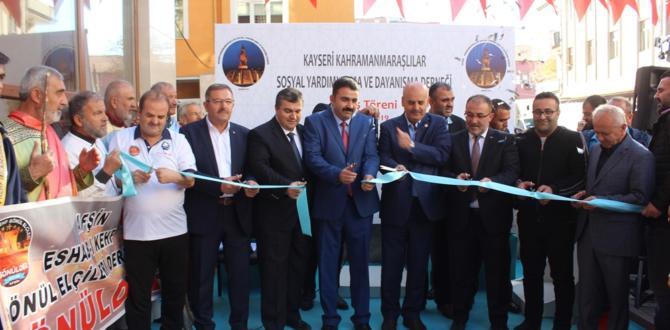 Kayseri Kahramanmaraşlılar Derneğinin açılışı yapıldı!