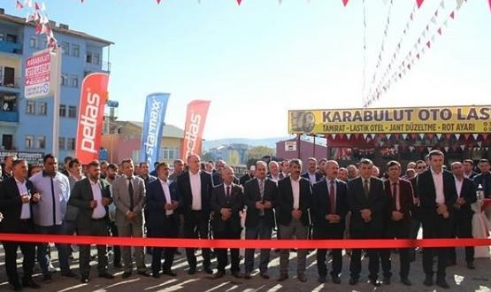 Bölgenin En Büyük Lastik Firması Açıldı.