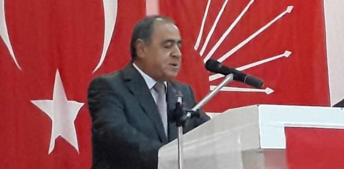Afşin'de CHP Hüseyin Sığınır Dedi.