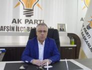 AK Parti İlçe Başkanı Safi, Ramazan Bayramı mesajı yayınladı