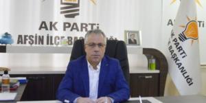 İlçe Başkanı İsmail Safi, Afşin Halkının Kurban Bayramını Kutladı