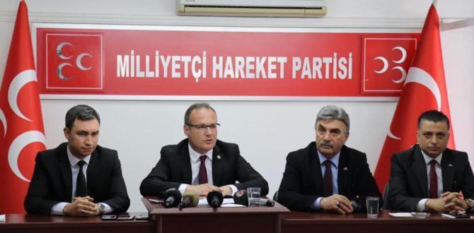 MHP Kahramanmaraş İl Başkanlığından Açıklama!