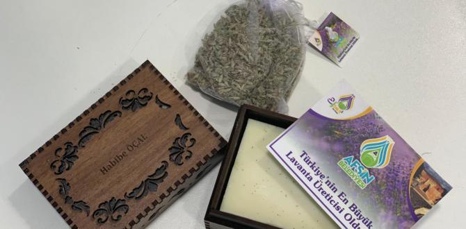 """Afşin Belediyesi Milletvekillerine """"Doğal Lavanta Sabunları"""" hediye etti."""