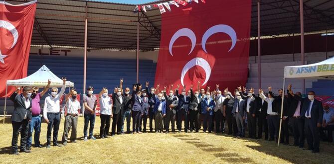 MHP'liler Afşin'de İlçe Başkanını Seçti.