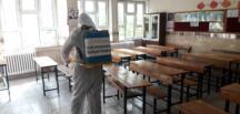 Okullar Dezenfekte Ediliyor!