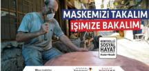 """Büyükşehir'den """"Maskemizi Takalım İşimize Bakalım"""" Kampanyası!"""