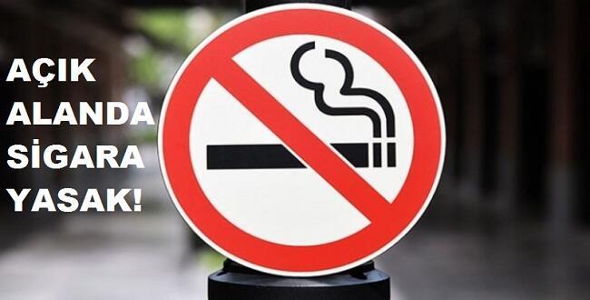 Afşin'de Açık Alanda Sigara İçmek Yasaklandı!