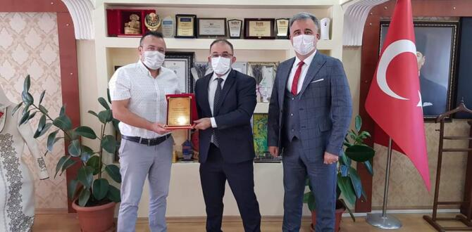 DEVLET HASTANESİNDEN GÜVEN'E ZİYARET