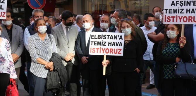 """ÖZTUNÇ:""""HER ŞEY AFŞİN-ELBİSTAN'DA TEMİZ HAVA İÇİN!"""""""